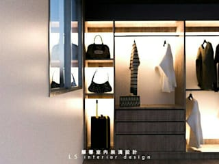 de 麗馨室內裝潢設計 LS interior design Minimalista