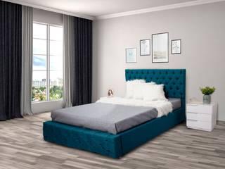 Dormitorios :  de estilo  por Muebles Juventud,