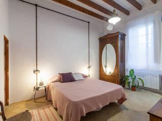 Fiol arquitectes 地中海スタイルの 寝室