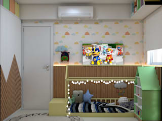 Baby room by ALENCAR Arquitetura | Interiores, Eclectic