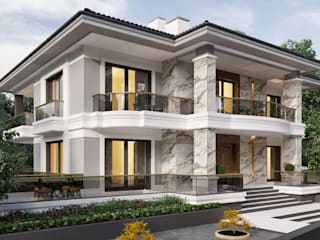 Biệt thự theo VERO CONCEPT MİMARLIK, Hiện đại