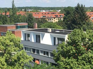 Eclectic style houses by boehning_zalenga koopX architekten in Berlin Eclectic