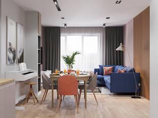 Living room by Goroh бюро, Modern