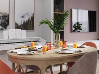 Dining room by Goroh бюро, Modern
