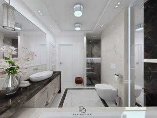 Projekt łazienki od Perihdesign Studio Projektowe Karolina Perih-Kamecka
