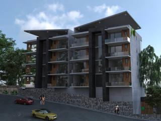AR216 Condominios Concreto Gris