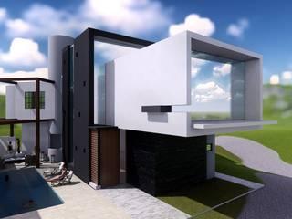 Casa de Playa Antonia Casas modernas: Ideas, diseños y decoración de Arq. Bruno Agüero Moderno