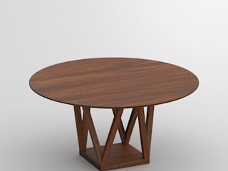 Mobili a Colori Modern dining room Solid Wood Brown