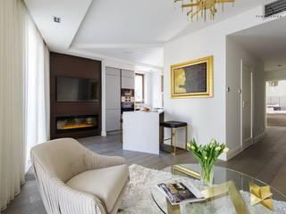 Apartament pod Wawelem od Perihdesign Studio Projektowe Karolina Perih-Kamecka Klasyczny
