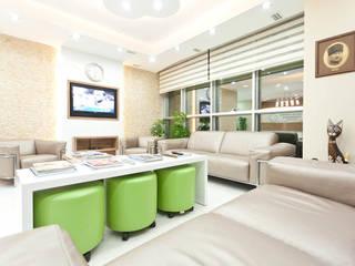 Diş Polikliniği Tasarımı Modern Klinikler Kalya İç Mimarlık \ Kalya Interıor Desıgn Modern