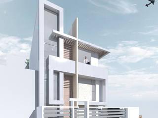 Casa capri, cali: Casas de estilo  por Am arquitectura, Minimalista