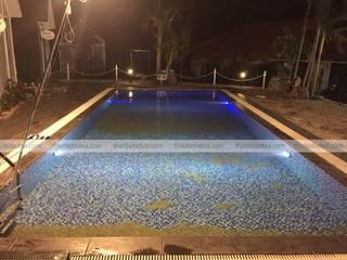 Bể bơi gia đình Anh Công - Resort Ninh Bình bởi Ninh Bư Châu Á