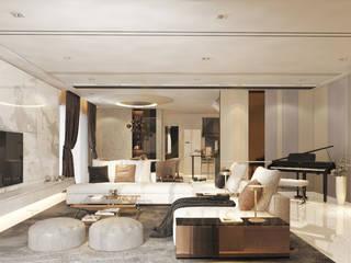 Salones modernos de THE MAXIMALIST DESIGN Moderno