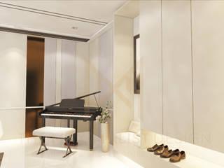 Salones de estilo moderno de THE MAXIMALIST DESIGN Moderno