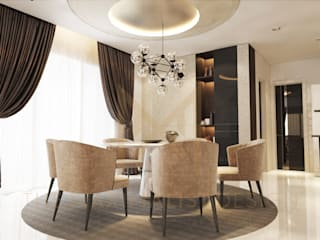 Modern dining room by THE MAXIMALIST DESIGN Modern