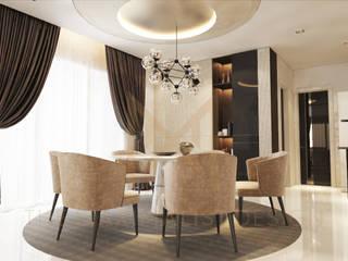Salas de jantar modernas por THE MAXIMALIST DESIGN Moderno