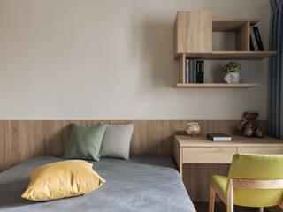 次臥室 根據 詩賦室內設計 現代風