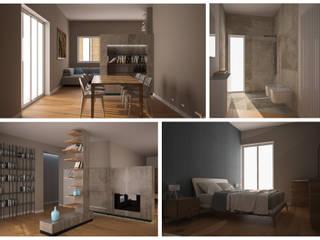 Interior Design - private house: Villa in stile  di TURCHIANO ARCHITETTI - architecture and design,