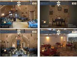 Restauro e Arredamento - Ristorante: Gastronomia in stile  di TURCHIANO ARCHITETTI - architecture and design,