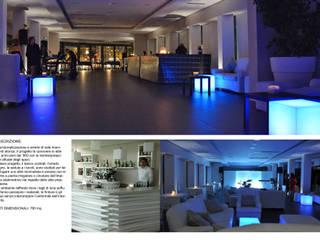 Rifunzionalizzazione e Arredo - Sala ricevimenti: Gastronomia in stile  di TURCHIANO ARCHITETTI - architecture and design,