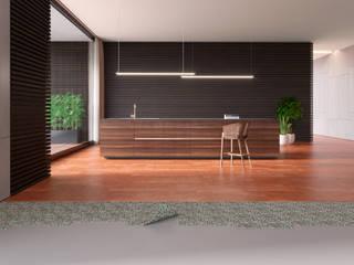 Cozinha: Pavimentos  por Go4cork,Moderno Cortiça