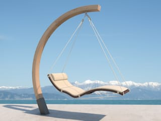 faktor holz Balconies, verandas & terraces Furniture