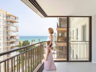 El apartamento | Benic`ássim, Castellón (Spain) estudio calma Casas de estilo mediterráneo