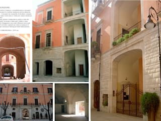 Restauro e Progettazione - Palazzo Marinelli: Condominio in stile  di TURCHIANO ARCHITETTI - architecture and design,