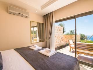 Kalkan'da Bir Butik Otel Projesi Modern Oteller Kalya İç Mimarlık \ Kalya Interıor Desıgn Modern
