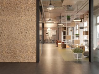 Decoration Go4cork Modern study/office Cork