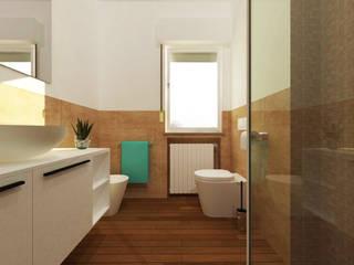 Ristrutturazione interna per bagno privato:  in stile  di ABITAlab S.r.l.,