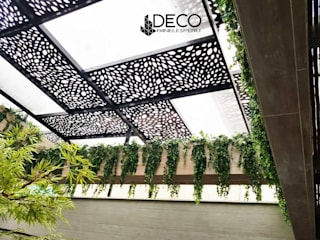 Techos sol y sombra : Terrazas de estilo  por DecoPaneles Peru,