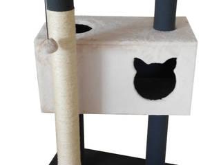 Gimnasio para gatos, referencia Fuji de ModuCat Estructuras modulares para gatos Moderno