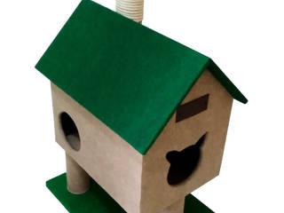 Gimnasio para gatos, referencia Cabaña del rio:  de estilo  por ModuCat Estructuras modulares para gatos,