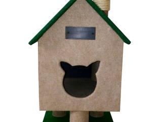 Gimnasio para gatos, referencia Cabaña del rio de ModuCat Estructuras modulares para gatos Moderno