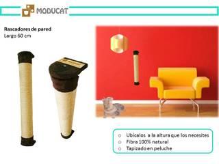 Rascadores para gato, para pared:  de estilo  por ModuCat Estructuras modulares para gatos,