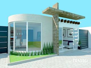 OFICINA PARA IGLESIA Casas modernas de TRASSO ATELIER Moderno