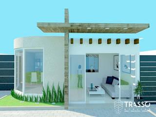 OFICINA PARA IGLESIA Casas minimalistas de TRASSO ATELIER Minimalista