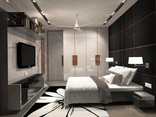 Bedroom Modern style bedroom by Bespoke Design Modern