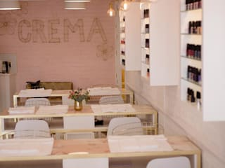 Crema:  Commercial Spaces by Inex Projects CC,