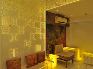 project site at juhu Modern offices & stores by Mybeautifulife Modern