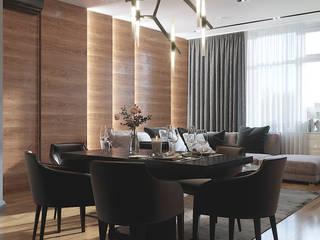 Living room by INTERIOR DESIGN OLGA FURMANOVA / Дизайнер интерьера Ольга Фурманова,
