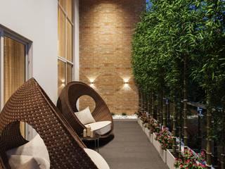 Balconies by De Panache - Interior Architects Modern