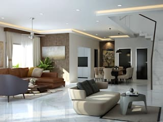 residential Modern living room by Inland Indoors Modern