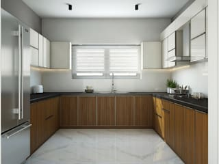 Cocinas de estilo moderno de Inland Indoors Moderno