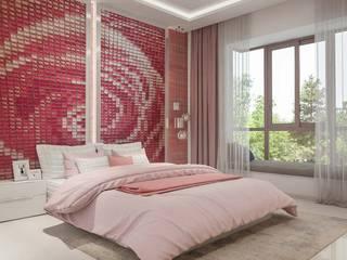 Kids Bed Room Modern Bedroom by De Panache - Interior Architects Modern
