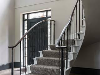 Elegant Georgian Staircase Bisca Staircases Escaleras Metal Blanco