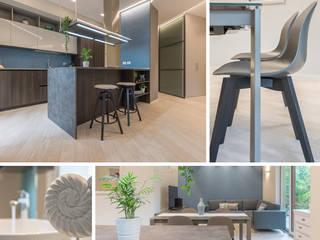 SERVIZIO FOTOGRAFICO per architetti Mirna Casadei Home Staging Soggiorno moderno