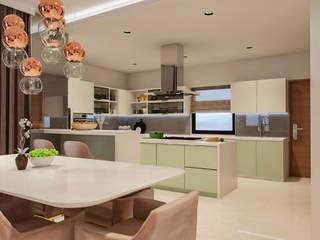 Kitchen Modern Kitchen by De Panache - Interior Architects Modern