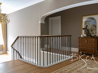7060 - Forged Balustrade Bisca Staircases Scale Metallo Variopinto